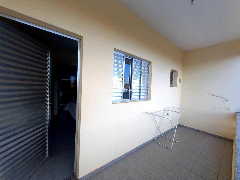 Sacada da suíte - Casa 3 quartos para alugar Itatiba,SP - R$ 1.515 - FCCA31502 - 9