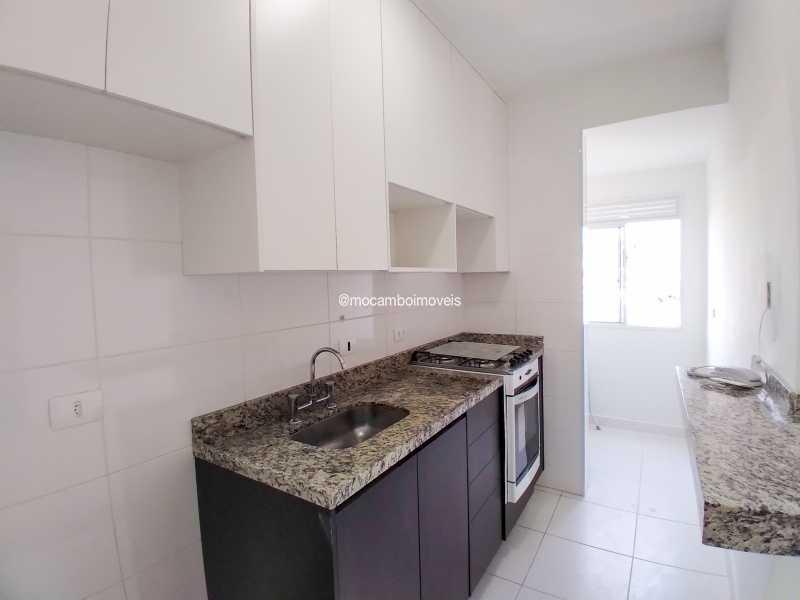 Cozinha - Apartamento 2 quartos para alugar Itatiba,SP - R$ 1.500 - FCAP21315 - 3