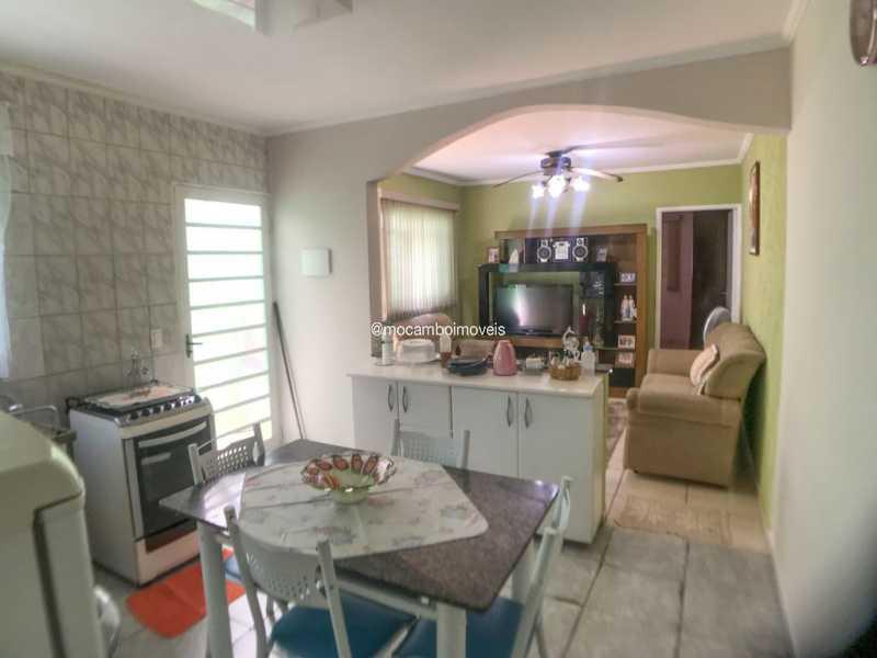 Cozinha - Sala - Casa 2 quartos à venda Itatiba,SP - R$ 280.000 - FCCA21525 - 5