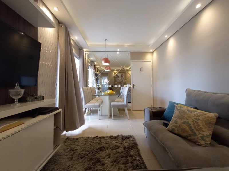 Sala - Apartamento 2 quartos para alugar Itatiba,SP - R$ 1.170 - FCAP21317 - 3