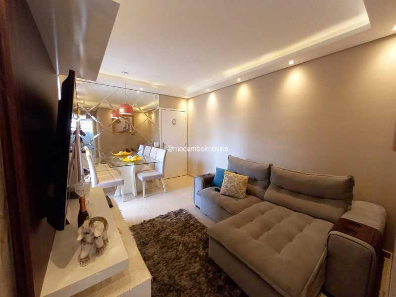 Sala - Apartamento 2 quartos para alugar Itatiba,SP - R$ 1.170 - FCAP21317 - 4