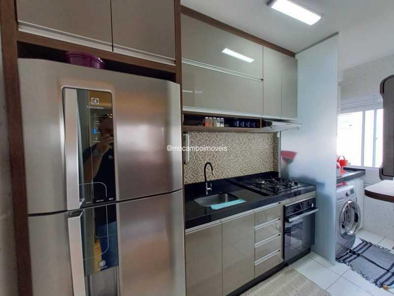 Cozinha  - Apartamento 2 quartos para alugar Itatiba,SP - R$ 1.170 - FCAP21317 - 6