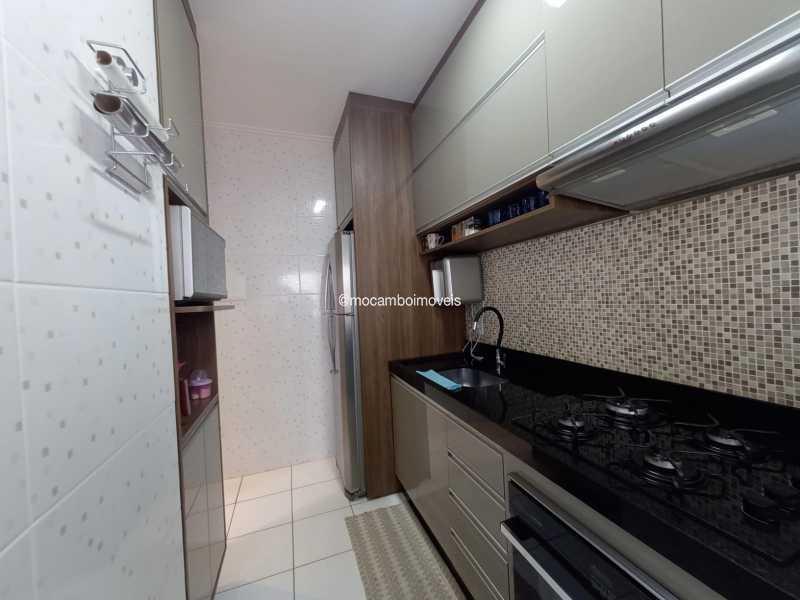 Cozinha  - Apartamento 2 quartos para alugar Itatiba,SP - R$ 1.170 - FCAP21317 - 7