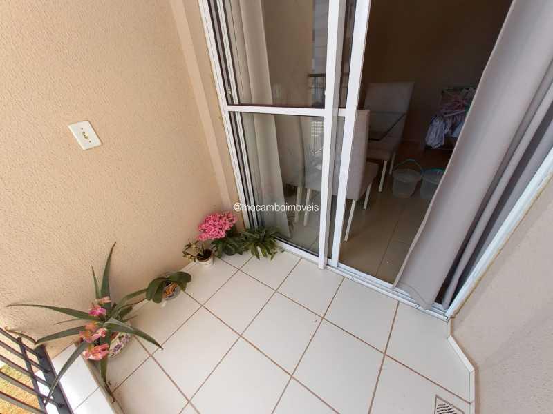 Sacada - Apartamento 2 quartos para alugar Itatiba,SP - R$ 1.170 - FCAP21317 - 21