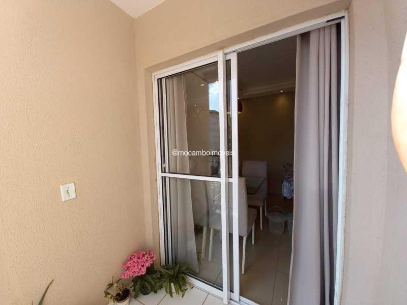 Sacada - Apartamento 2 quartos para alugar Itatiba,SP - R$ 1.170 - FCAP21317 - 22
