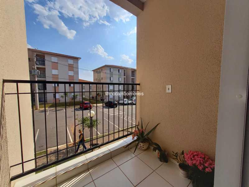 Sacada - Apartamento 2 quartos para alugar Itatiba,SP - R$ 1.170 - FCAP21317 - 23