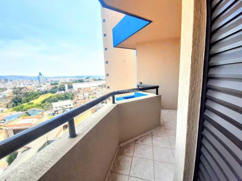 Varandas  - Apartamento 3 quartos à venda Itatiba,SP - R$ 380.000 - FCAP30628 - 13