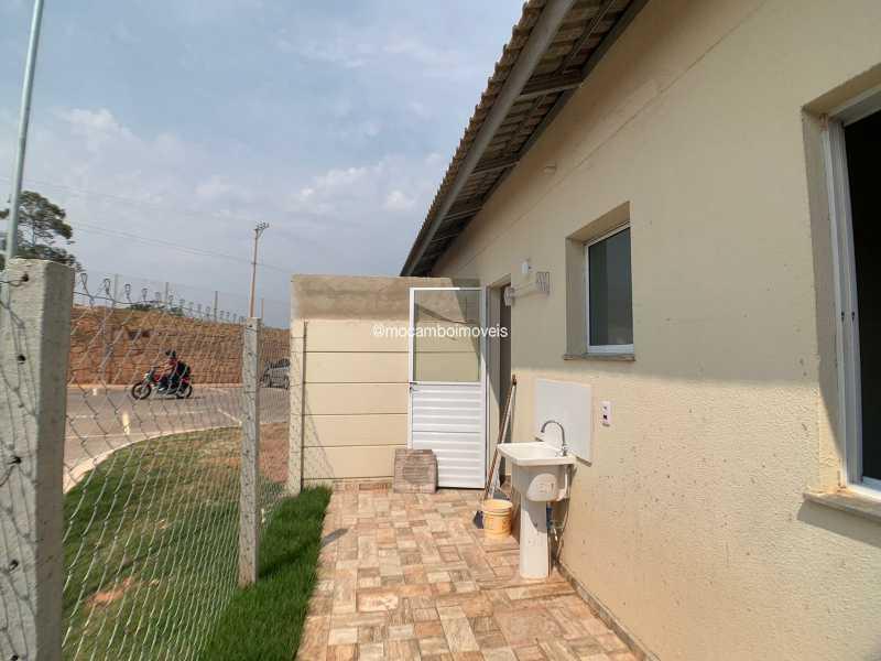 Quintal - Casa em Condomínio 2 quartos para venda e aluguel Itatiba,SP - R$ 1.000 - FCCN20048 - 8