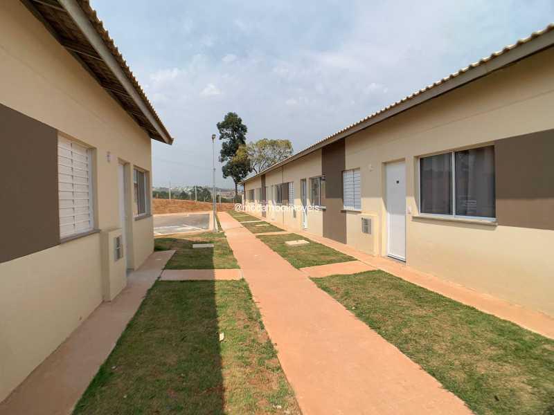 Entrada  - Casa em Condomínio 2 quartos para venda e aluguel Itatiba,SP - R$ 1.000 - FCCN20048 - 1