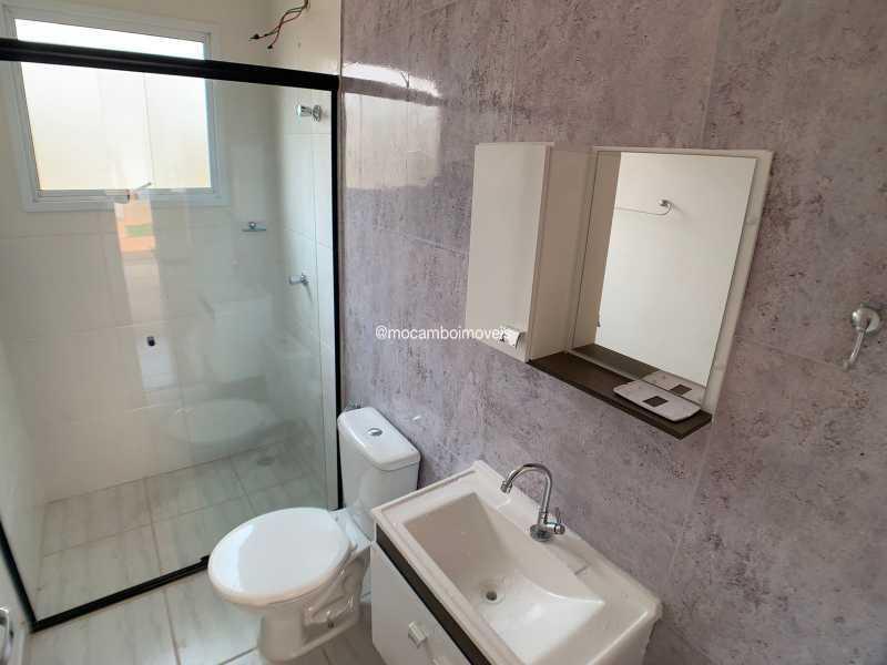 Banheiro - Casa em Condomínio 2 quartos para venda e aluguel Itatiba,SP - R$ 1.000 - FCCN20048 - 5