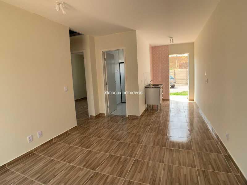 Sala - Casa em Condomínio 2 quartos para venda e aluguel Itatiba,SP - R$ 1.000 - FCCN20048 - 3