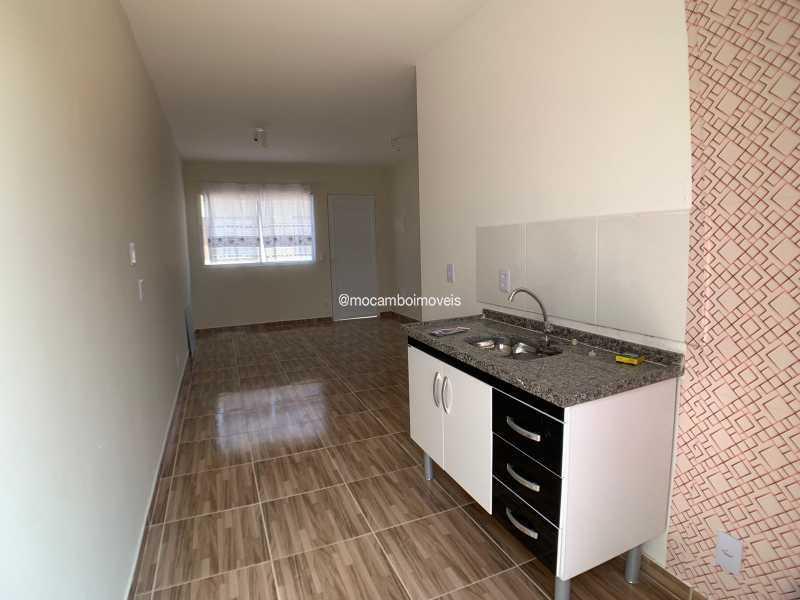 Cozinha - Casa em Condomínio 2 quartos para venda e aluguel Itatiba,SP - R$ 1.000 - FCCN20048 - 4