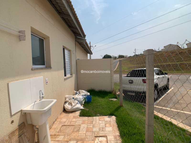 Quintal - Casa em Condomínio 2 quartos para venda e aluguel Itatiba,SP - R$ 1.000 - FCCN20048 - 9