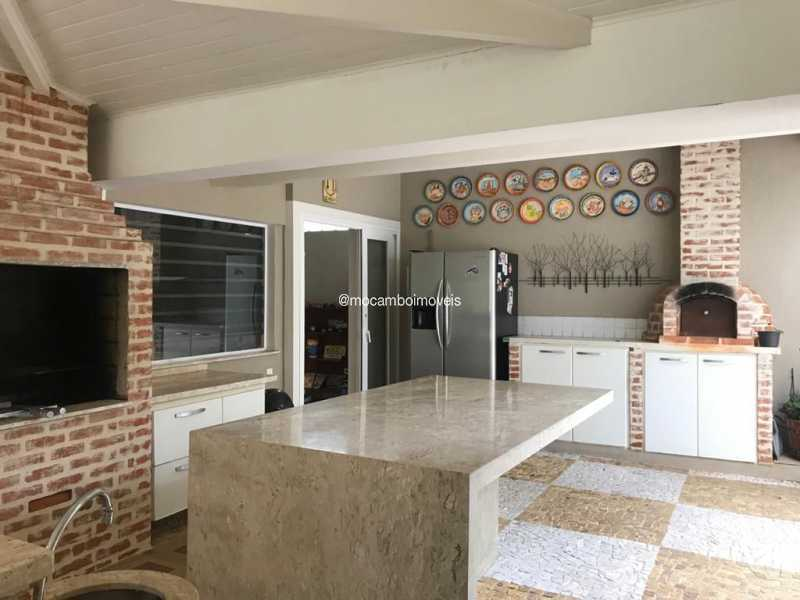 Churrasqueira  - Casa em Condomínio 4 quartos para venda e aluguel Itatiba,SP - FCCN40195 - 3
