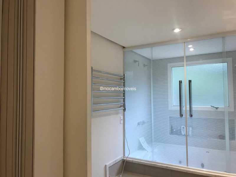 Suíte máster  - Casa em Condomínio 4 quartos para venda e aluguel Itatiba,SP - FCCN40195 - 6