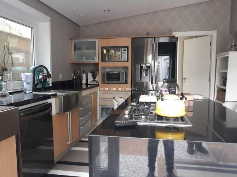 Cozinha  - Casa em Condomínio 4 quartos para venda e aluguel Itatiba,SP - FCCN40195 - 5