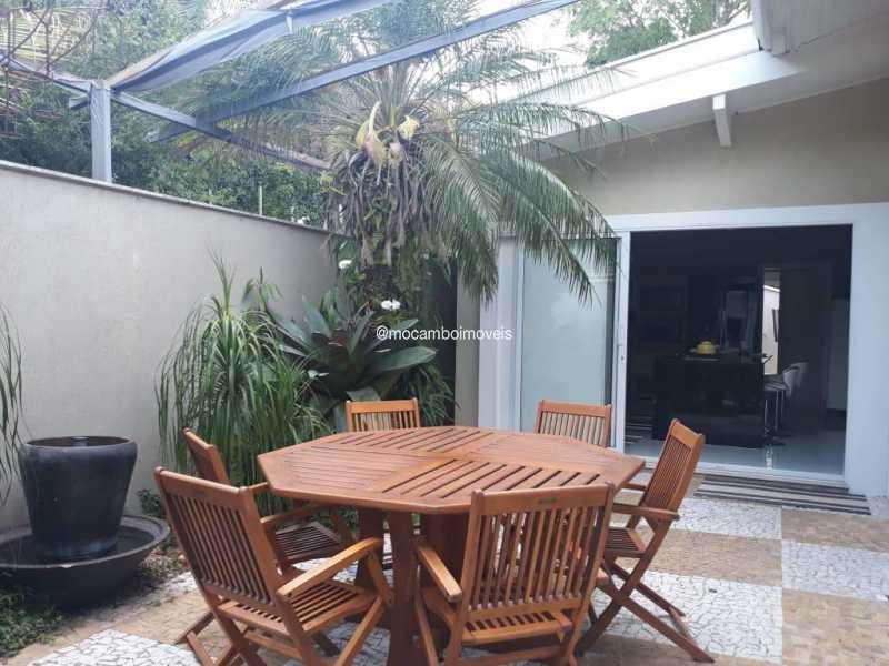 Área Externa  - Casa em Condomínio 4 quartos para venda e aluguel Itatiba,SP - FCCN40195 - 8