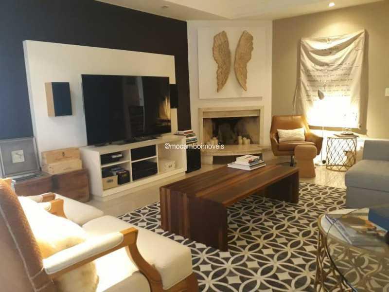 Sala Lareira  - Casa em Condomínio 4 quartos para venda e aluguel Itatiba,SP - FCCN40195 - 10