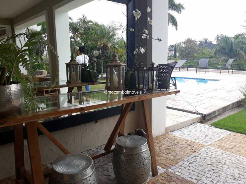 Churrasqueira - Casa em Condomínio 4 quartos para venda e aluguel Itatiba,SP - FCCN40195 - 9