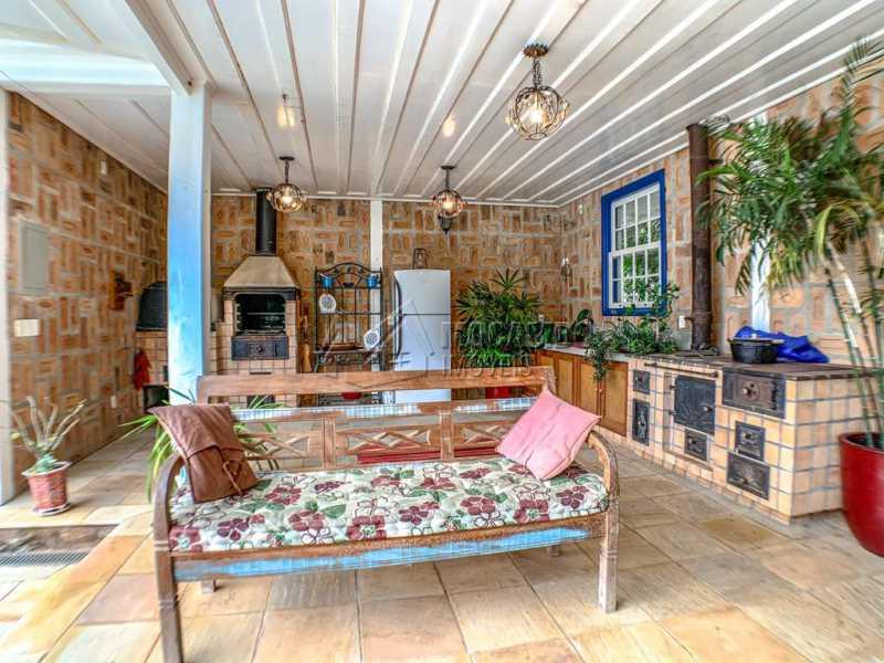 Espaço Gourmet - Casa em Condomínio 3 quartos à venda Itatiba,SP - R$ 3.800.000 - FCCN30218 - 22
