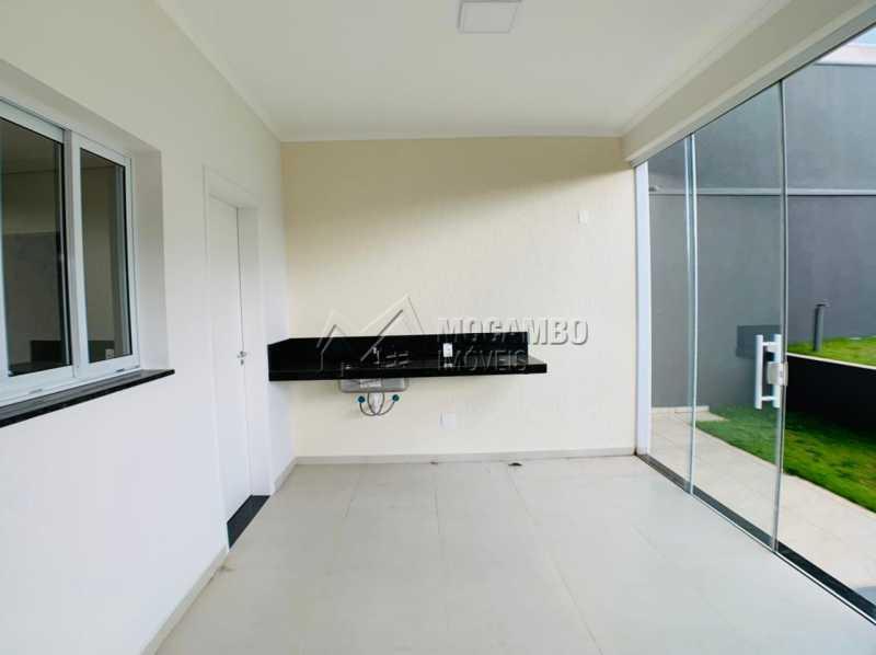 Área gourmet - Casa em Condomínio 3 quartos à venda Itatiba,SP - R$ 830.000 - FCCN30115 - 5