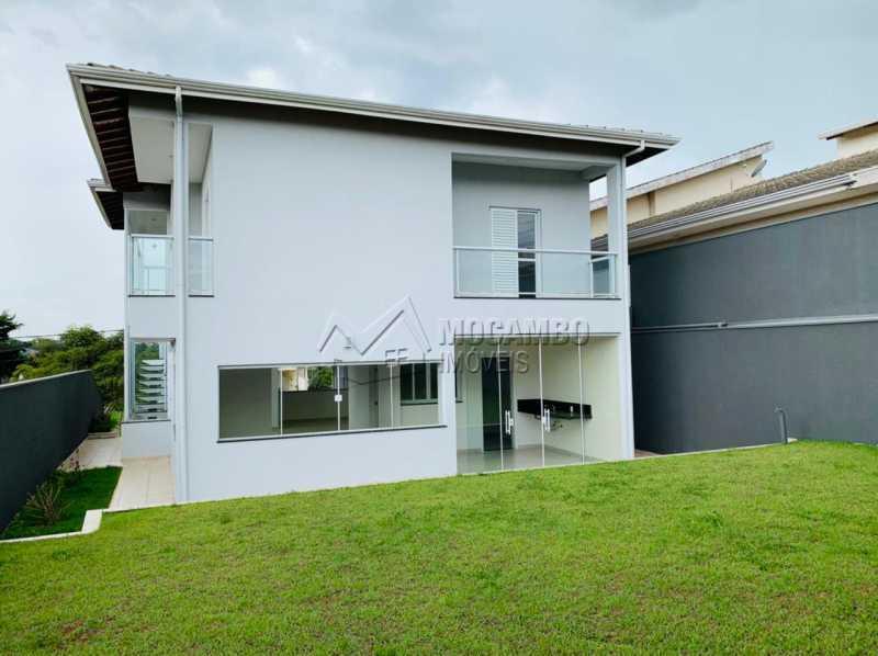 Área externa - Casa em Condomínio 3 quartos à venda Itatiba,SP - R$ 830.000 - FCCN30115 - 23