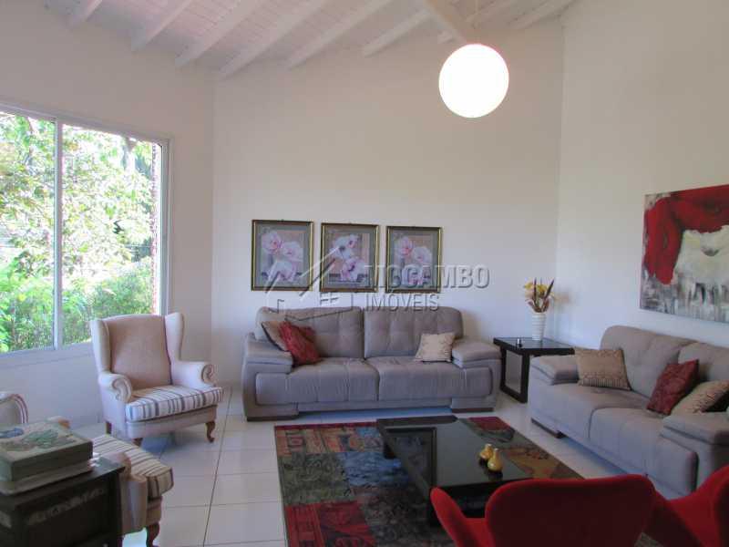 Sala de Estar - Casa em Condomínio 7 quartos à venda Itatiba,SP - R$ 1.750.000 - FCCA70002 - 1
