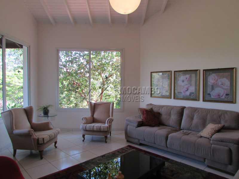Sala de Estar - Casa em Condomínio 7 quartos à venda Itatiba,SP - R$ 1.750.000 - FCCA70002 - 3