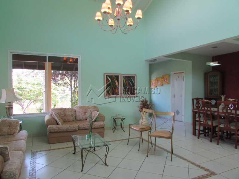 Sala de Estar - Casa em Condomínio 7 quartos à venda Itatiba,SP - R$ 1.750.000 - FCCA70002 - 16