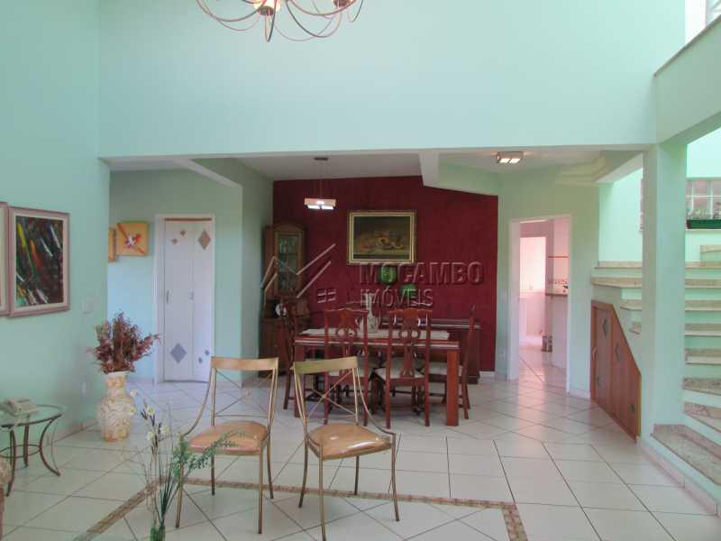Sala de Jantar - Casa em Condomínio 7 quartos à venda Itatiba,SP - R$ 1.750.000 - FCCA70002 - 17