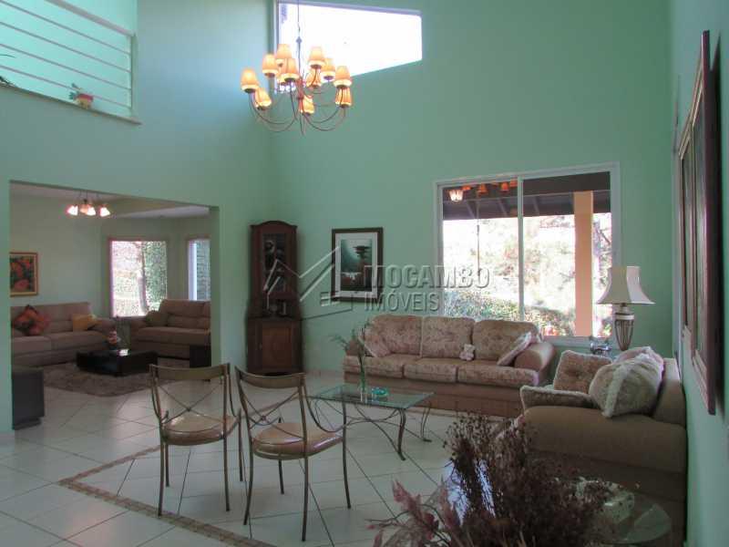 Sala de Estar / Sala de Tv - Casa em Condomínio 7 quartos à venda Itatiba,SP - R$ 1.750.000 - FCCA70002 - 15