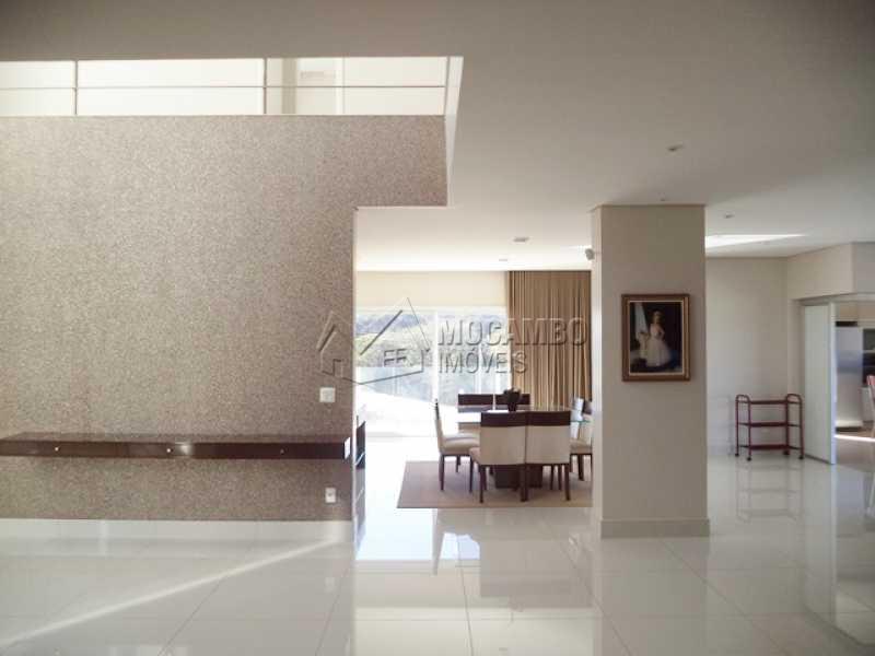 Ampla sala - Casa em Condomínio 4 quartos à venda Itatiba,SP - R$ 2.450.000 - FCCN40006 - 5