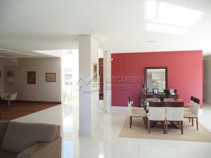 Ampla sala - Casa em Condomínio 4 quartos à venda Itatiba,SP - R$ 2.450.000 - FCCN40006 - 6