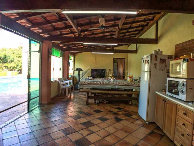 Salão festas - Chácara 1250m² À Venda Itatiba,SP - R$ 690.000 - FCCH30029 - 14