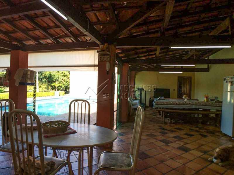 Salão festas - Chácara 1250m² À Venda Itatiba,SP - R$ 690.000 - FCCH30029 - 17
