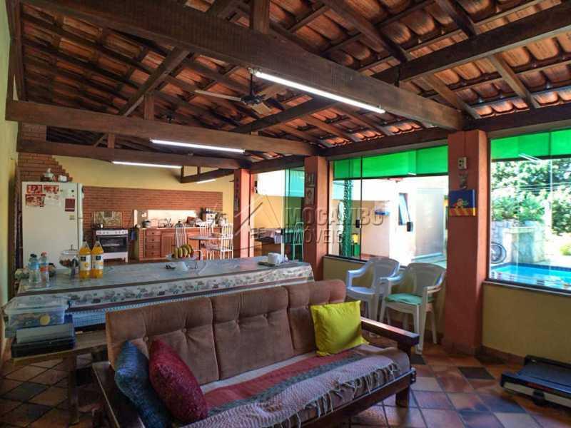 Salão festas - Chácara 1250m² À Venda Itatiba,SP - R$ 690.000 - FCCH30029 - 18