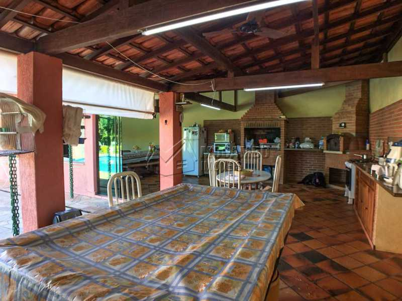 Salão festas - Chácara 1250m² À Venda Itatiba,SP - R$ 690.000 - FCCH30029 - 19