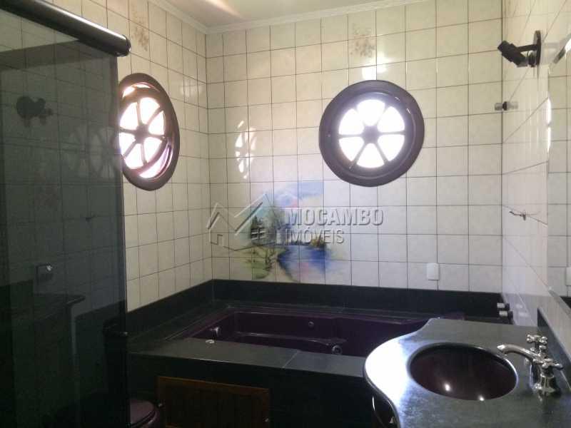 Banheiro Suíte - Casa em Condomínio 3 quartos para alugar Itatiba,SP - R$ 2.500 - FCCN30023 - 24