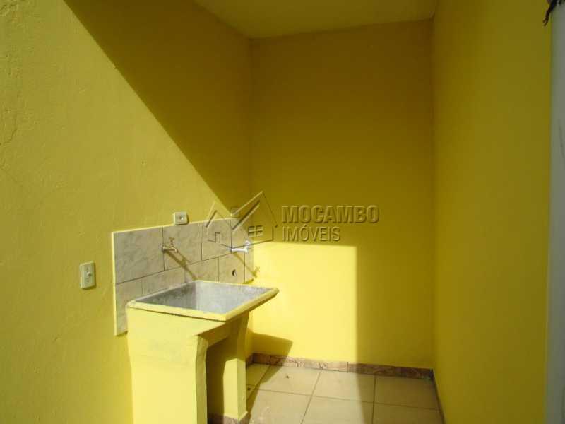 Area de Serviço - Casa Para Alugar - Itatiba - SP - Loteamento Parque da Colina I - FCCA20249 - 12