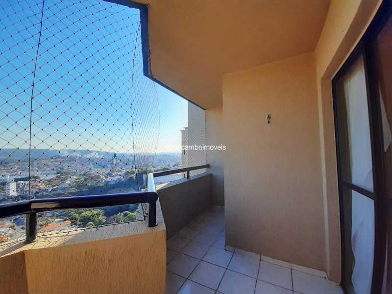 Varanda - Apartamento 3 quartos à venda Itatiba,SP - R$ 430.000 - FCAP30629 - 4
