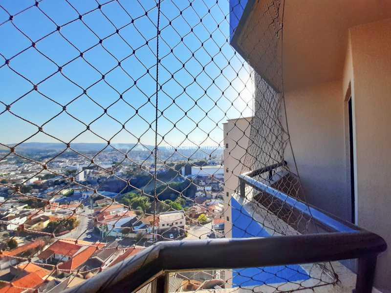 Varanda - Apartamento 3 quartos à venda Itatiba,SP - R$ 430.000 - FCAP30629 - 5