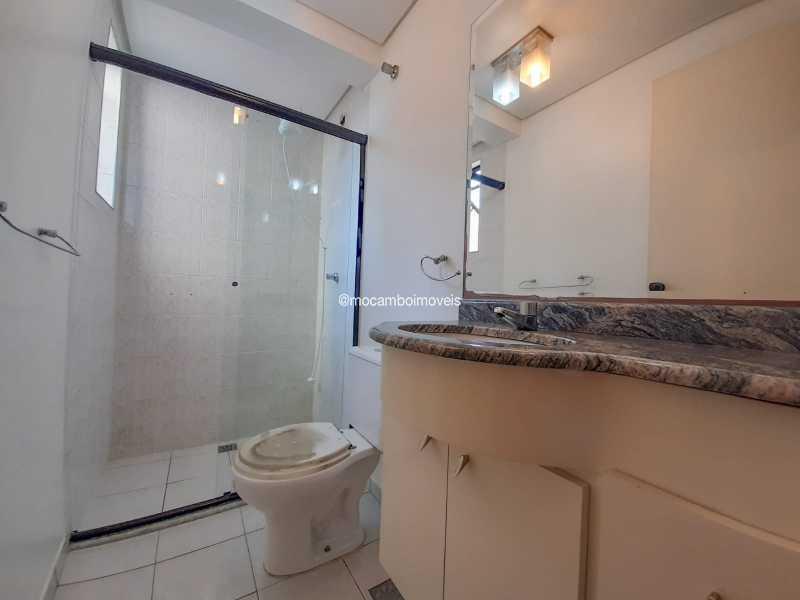 Banheiro Social - Apartamento 3 quartos à venda Itatiba,SP - R$ 430.000 - FCAP30629 - 13