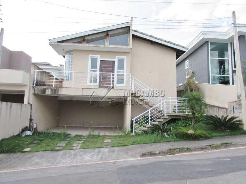 Fachada - Casa em Condominio À Venda - Itatiba - SP - Residencial Fazenda Serrinha - FCCN30040 - 1