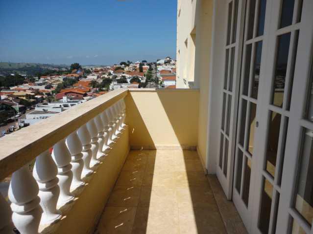 Varanda - Apartamento em condomínio Para Alugar - Condomínio Edifício Monte Castelo - Itatiba - SP - Vila Brasileira - FCAP20157 - 10