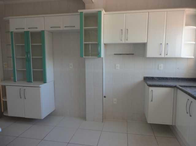 Cozinha - Apartamento em condomínio Para Alugar - Condomínio Edifício Monte Castelo - Itatiba - SP - Vila Brasileira - FCAP20157 - 9
