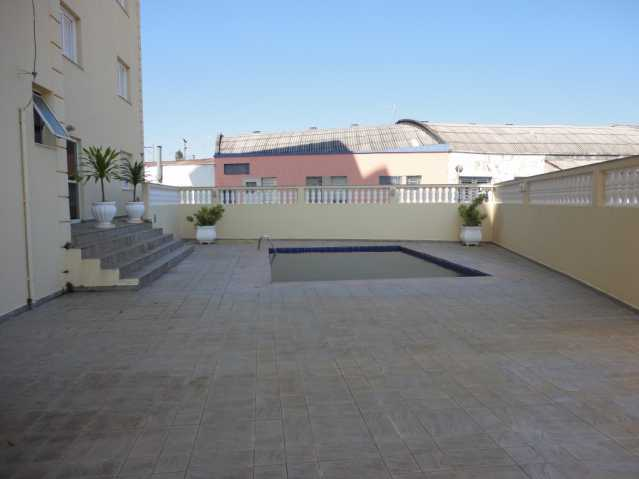 Área da piscina - Apartamento em condomínio Para Alugar - Condomínio Edifício Monte Castelo - Itatiba - SP - Vila Brasileira - FCAP20157 - 19