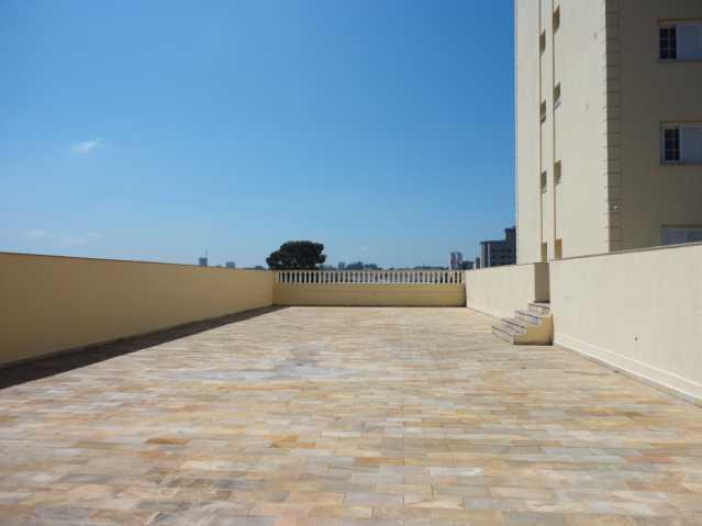 Terraço - Apartamento em condomínio Para Alugar - Condomínio Edifício Monte Castelo - Itatiba - SP - Vila Brasileira - FCAP20157 - 20