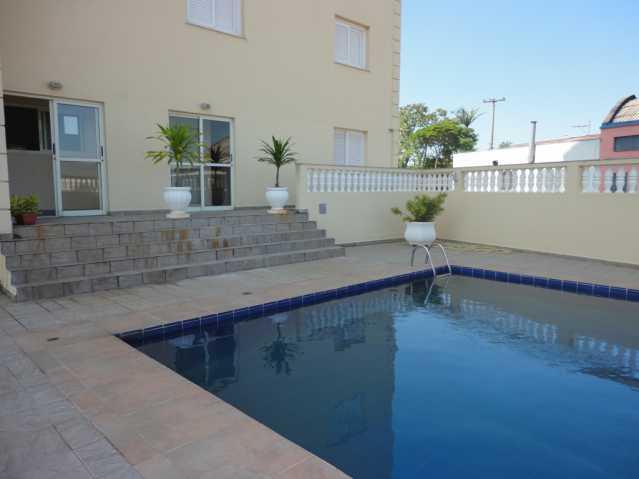 Piscina - Apartamento em condomínio Para Alugar - Condomínio Edifício Monte Castelo - Itatiba - SP - Vila Brasileira - FCAP20157 - 21