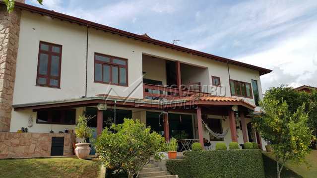 Fachada - Casa em Condomínio 4 quartos à venda Itatiba,SP - R$ 1.550.000 - FCCN40017 - 3