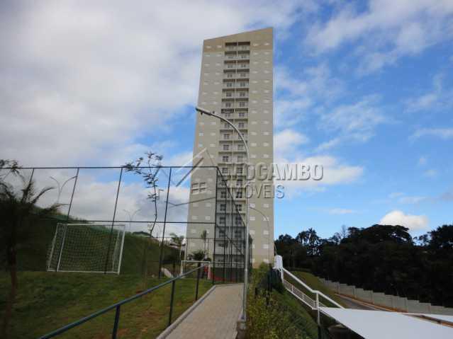 Fachada do Prédio - Apartamento 3 quartos à venda Itatiba,SP - R$ 465.000 - FCAP30534 - 1